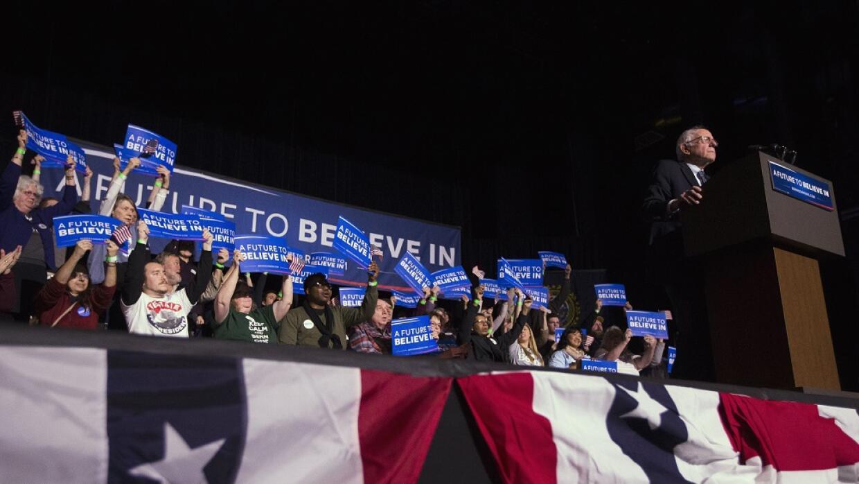 Sanders es el favorito en New Hampshire.