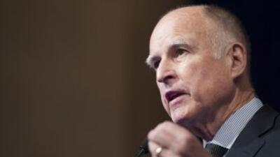 El gobernador de California, Jerry Brown.