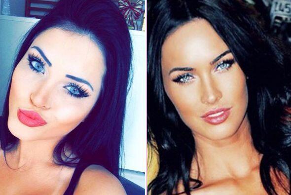 Esta morena de ojos azules se llama Claudia Alende, es brasileña y tiene...