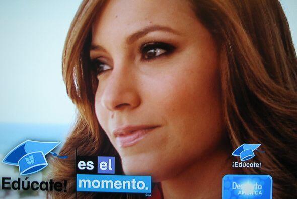 La presentadora se emocionó hasta las lágrimas después de contar su hist...