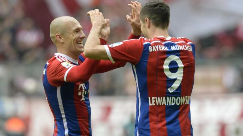 Los dos atacantes son piezas fundamentales del Bayern, pero el holandés...