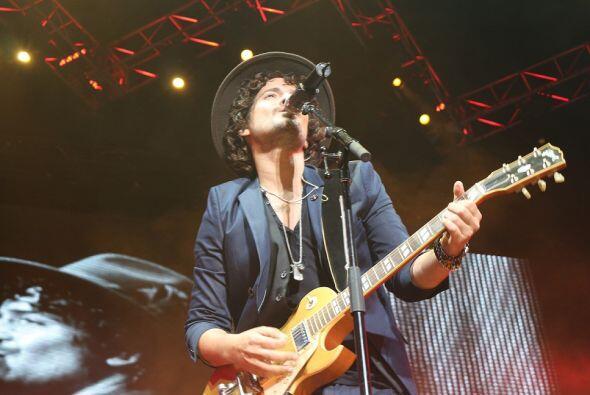 Fotografías tomadas durante el concierto de Tommy Torres, efectuado el 2...