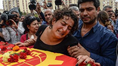 Indignación y tristeza por atentado en Turquía