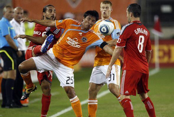 Con goles de Dwayne De Rosario parece que el Dynamo se despide de la fas...