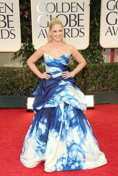 Ese vestido deslavado parecía haber estado inspirado en la onda '...