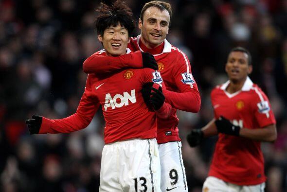 Manchester United se mantiene como invicto ya que goleó al Blackburn Rov...
