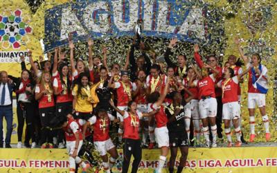 Santa Fe campeón femenino en Colombia