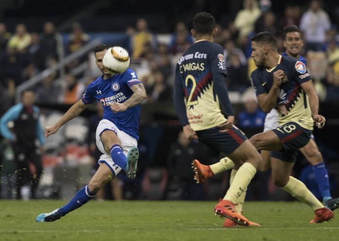 América vs. Cruz Azul Liguilla Apertura 2017.