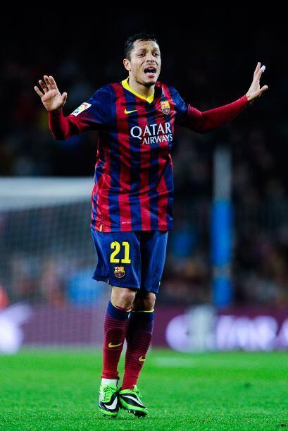 Adriano (6): Entró tras el descanso para sustituir al lesionado Jordi Al...