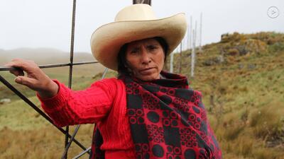 Máxima Acuña gana el Premio Ambiental Goldman 2016 de Sur y Centroamérica