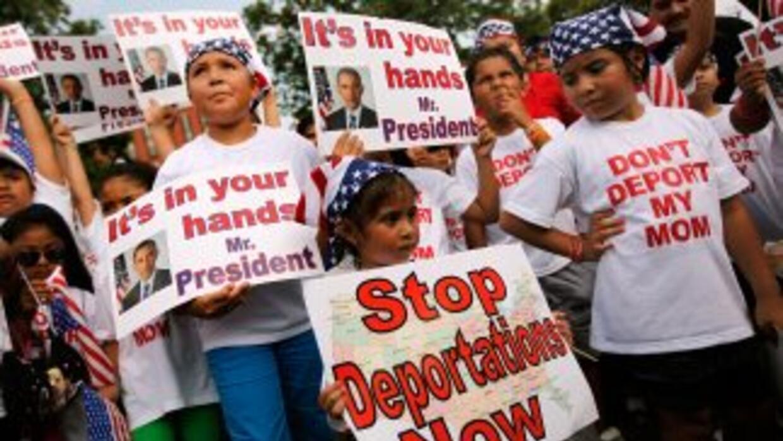 Numerosas marchas de hijos de indocumentados nacidos en EU que piden por...