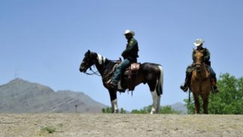 Agentes de frontera en El Paso