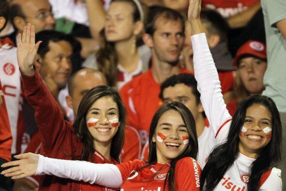Infartantes, hermosas, fanáticas del Inter, fieles al equipo de Porto Al...