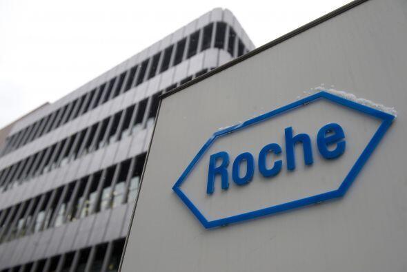 6. Roche. La firma suiza, mejor conocida por sus medicamentos contra el...
