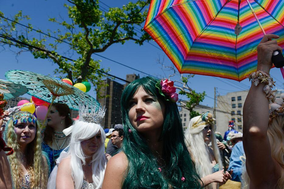 Como cada año, este sábado se lleva a cabo el Desfile de las Sirenas en...