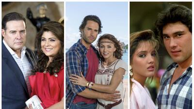 Ellos se enamoraron más de una vez en las telenovelas