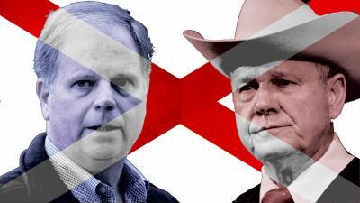 Jones y Moore son los protagonistas de una batalla electoral como muy po...