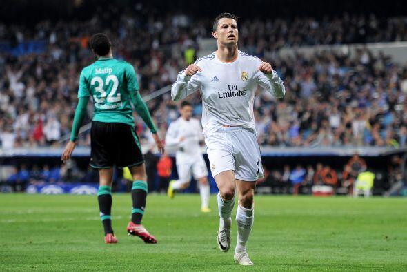 El portugués es una máquina goleadora, lo demostró al poner las cosas 2-1.