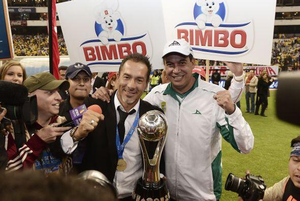 El DT de León ganó su derecho a estar entre los que conocen la gloria de...