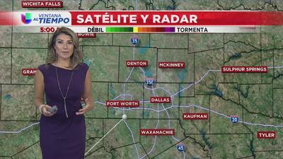 Se alejan las lluvias y sube la temperatura para este martes en el Metroplex