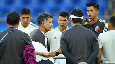 Ante Corea del Sur, Juan Carlos Osorio busca consolidar la eficiencia que tuvo el Tri contra Alemania