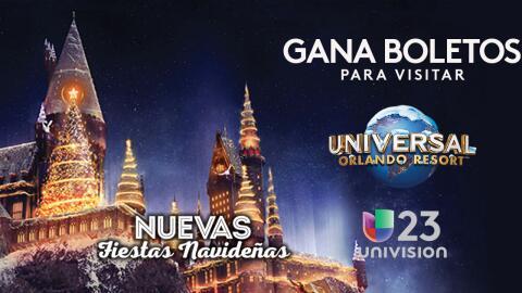 Gana boletos para visitar Universal Orlando en estas fiestas navideñas