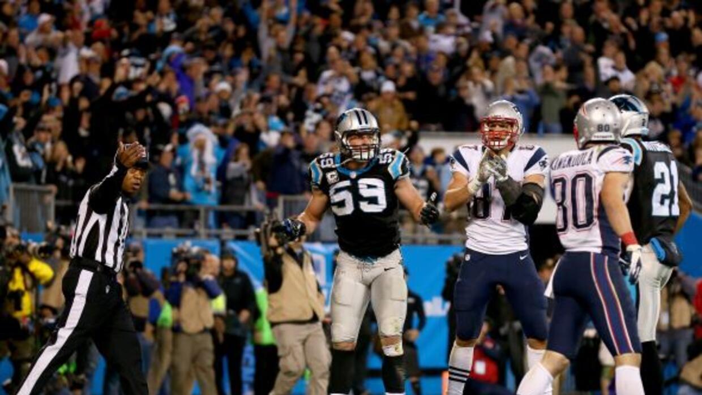 Los Patriots acabaron perdiendo con polémica ante los Panthers.