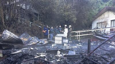 Un voraz incendio mata a 10 mujeres en un asilo en Chile