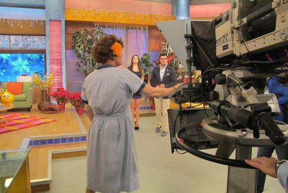 Pero, ¿qué está haciendo detrás de cámaras Doña Meche?