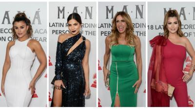 Clarissa, Lili, Chiqui, Alejandra: las estrellas de Univision lucieron espectaculares en homenaje a Maná