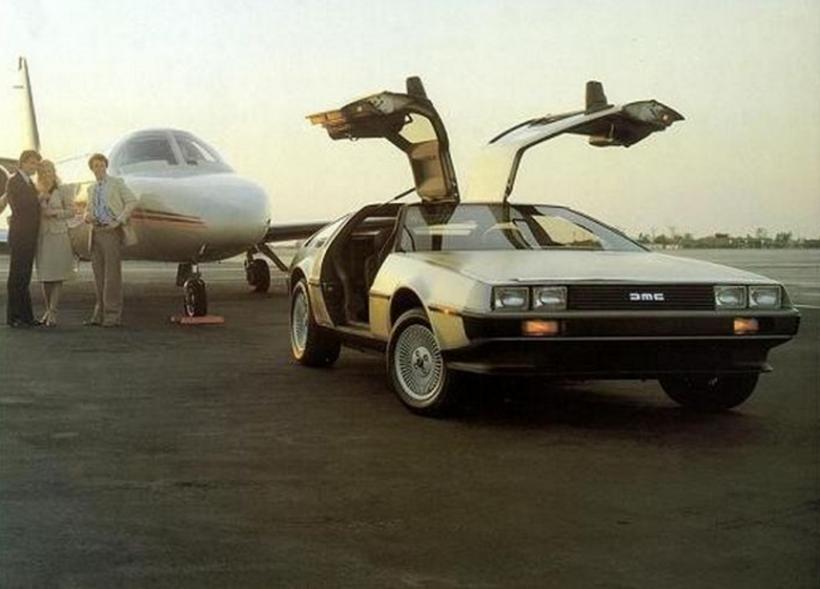 "El protagonista mecánico de la serie ""Back to the Future"""