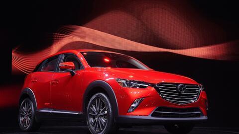 Mazda presenta al nuevo CX-3 en el Auto Show de LA 2016