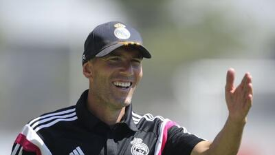 Zidane señaló que Didier Deschamps está haciendo un gran trabajo con los...