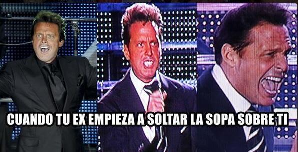 Meme de Luis Miguel