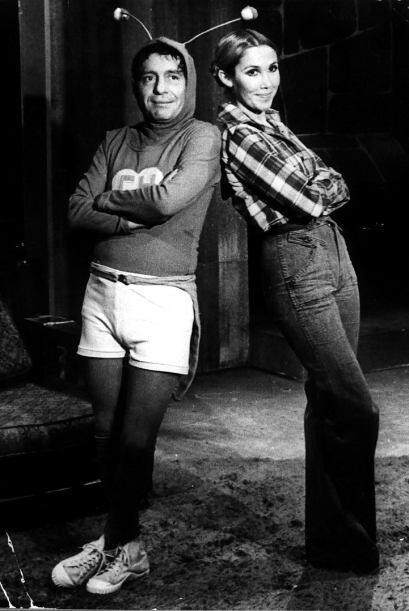Chespirito y Florinda Meza eran colegas en 'El Chavo del Ocho',...