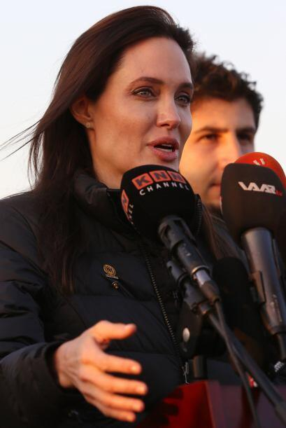 Una vez más Angelina Jolie da muestra de su gran corazón.