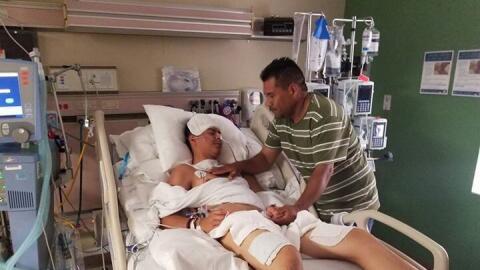 Brandon Rodrigo Martínez, uno de los inmigrantes que sobrevivi&oa...