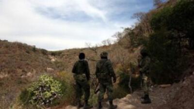 En el marco de la lucha contra el crimen organizado, autoridades mexican...