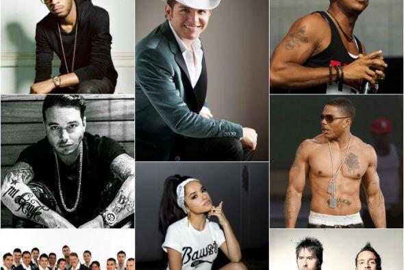 Los artistas del Uforia Music Festival 2014 han tenido grandes éxitos mu...
