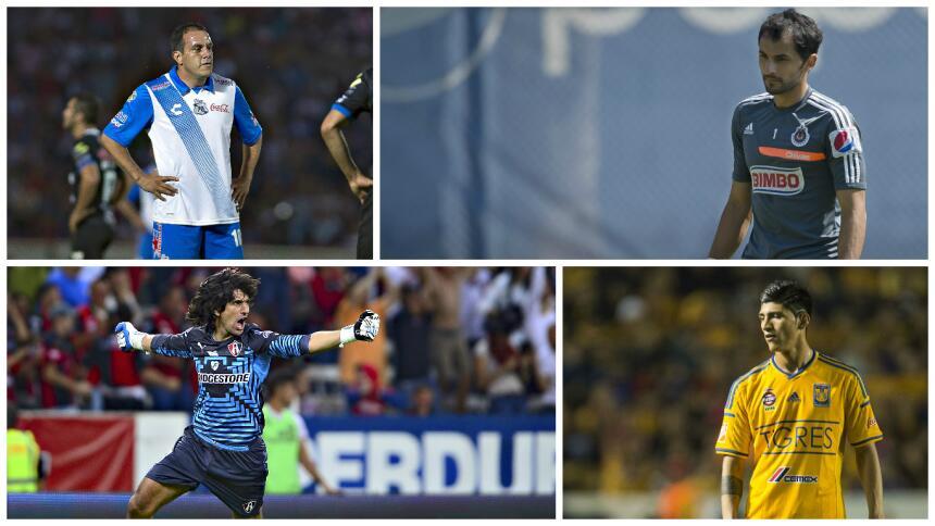 Cuauhtémoc Blanco y Ronaldinho, dentro de los antecedentes de la J17