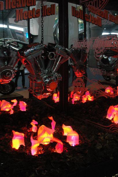 Pero si se habla de  motocicletas no puede faltar un icono: Harley-David...