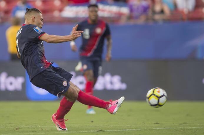 David Ramírez (Costa Rica): un gol