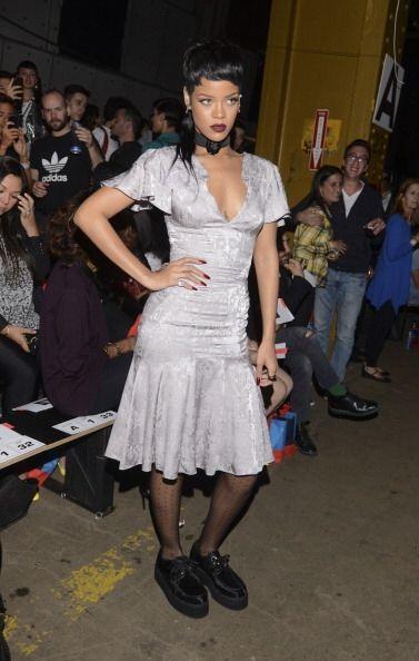 Rihanna también es fan y parte de la tendencia de los 'creepers' pues no...