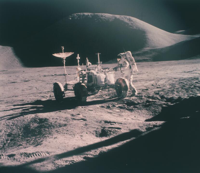 Todo lo que querías saber del 'buggy' lunar y nunca te habías atrevido a...