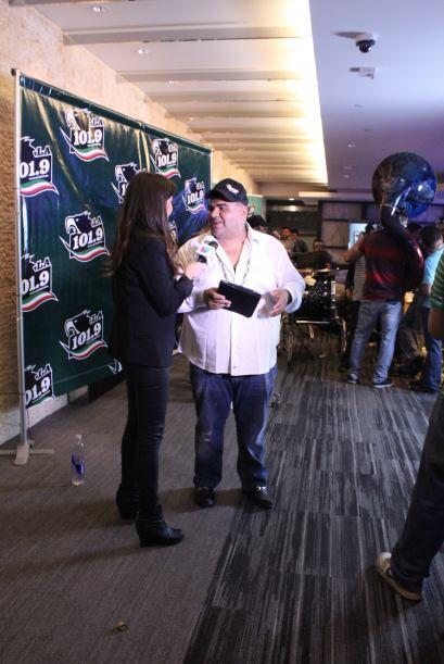 Hasta una entrevista para Univision 34 le hicieron