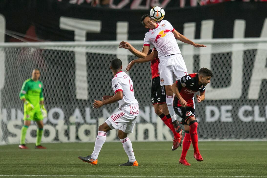 Xolos perdió 0-2 con New York Red Bulls en ida de cuartos de final en Co...
