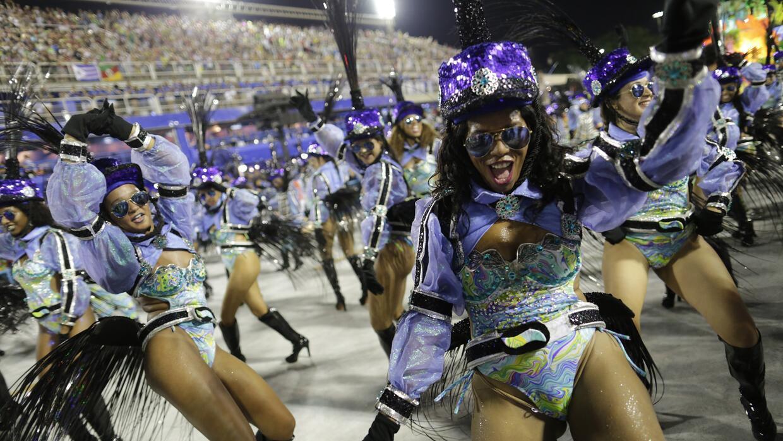 El Sambódromo de Río de Janeiro volvió estallar en...
