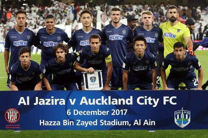 Auckland City [3]-1 Tasman United: Vincenzo Tavano jugó todo el partido...