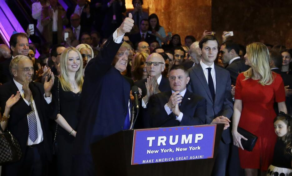 Donald Trump gana en las primarias de Nueva York