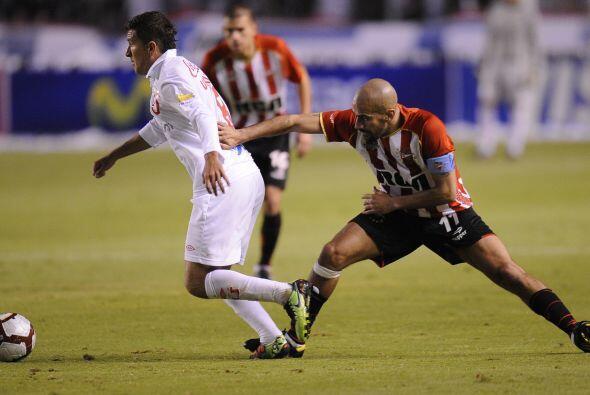 El encuentro se jugó en la ciudad de Quito en el estadio Casa Blanca ant...